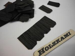 50 Holz Diverse Maße 0,6mm stark   NEU ! Dachschindeln Palisander