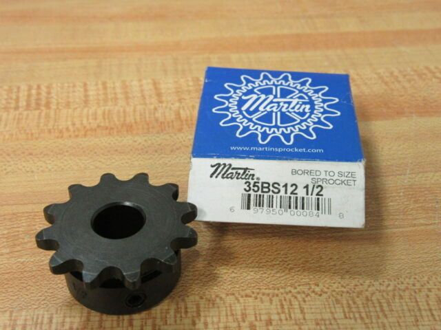 NEW MARTIN 35BS12 1//2 BORED TO SIZED SPROCKET