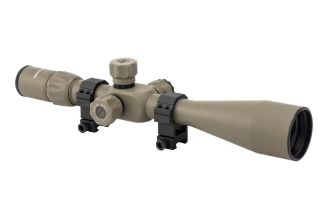 FFP Rifle Scope Illuminated OPEN BOX Monstrum G3 6-24x50 First Focal Plane