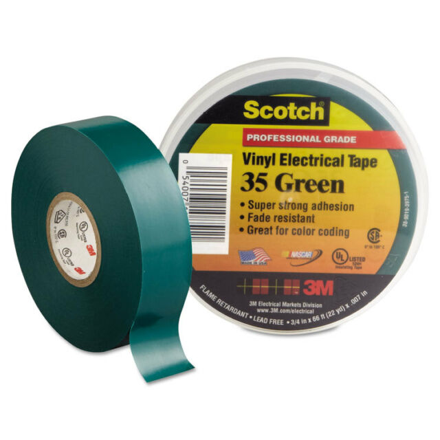Scotch 24413-BA-6 700 3//4-Inch by 66-Feet by 0.007-Inch Vinyl Electrical Tape 5-Pack
