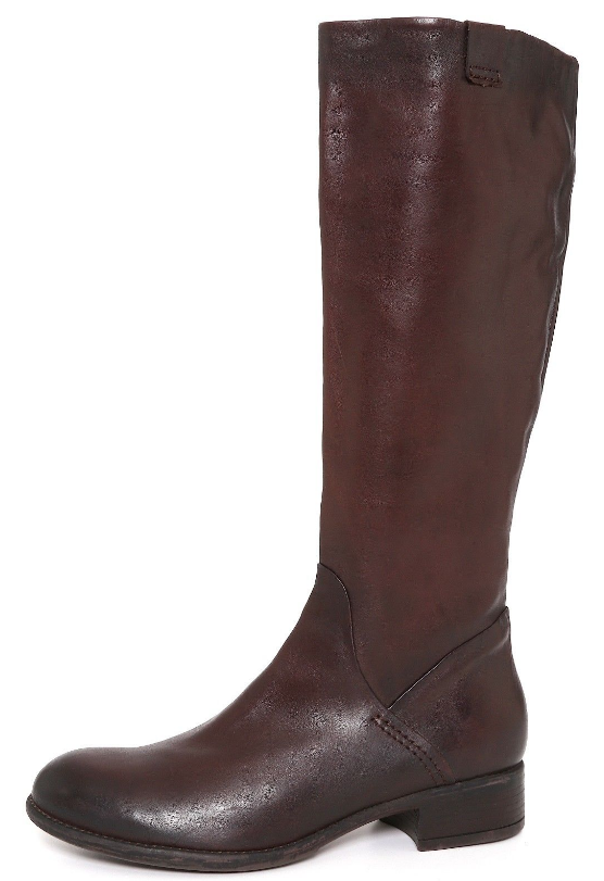 Manas Donna Brown Side Zipper Pelle Boot Sz 40 EUR 3367 *