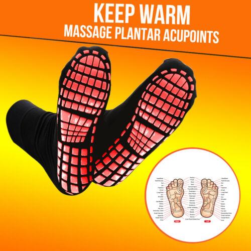 Winter Warm Self Heating Tourmaline Therapy Health Socks Pain Relief Unisex Adul