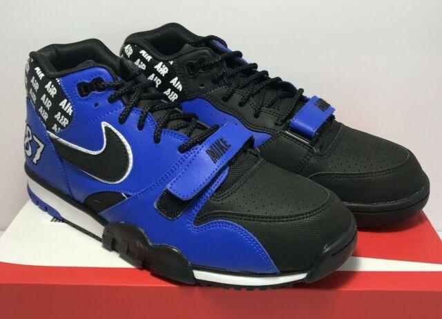 best sell fantastic savings classic style Nike Mens Size 11 Air Trainer 1 Mid SOA HYPER Cobalt Black SNEAKERS Aq5099  400