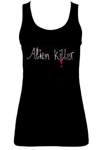 Alle Größen Goth Horror Alien Killer Kristall Design Unterhemden
