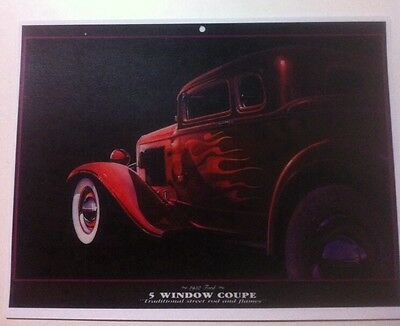 "/""1932 Ford Hiboy/"" Illustration 8x10 Reprint Garage Decor"