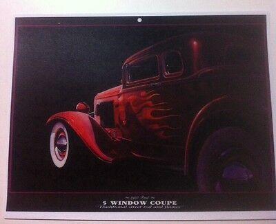 "/""1932 Ford Hiboy/"" Illustration 8x10 Reprint Garage Decor"