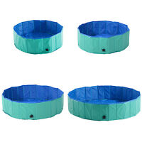 Folding Dog Swimming Pool Pet Cat Bathing Tub Bathtub Washer Cooling Portable