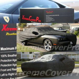 CUSTOM-FIT-CAR-COVER-FOR-2017-2018-DODGE-CHALLENGER-BREATHABLE-BLACK
