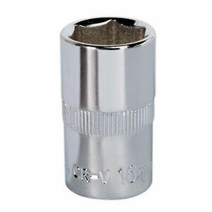 Sealey-sp1216-walldrive-Socket-16-mm-de-1-2-034-Sq-Disco-completamente-pulido