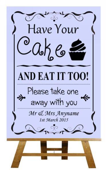 Accurato Lilla Per Torte Cupcakes Personalizzati Nozze Segno / Poster Famoso Per Materiali Selezionati, Disegni Innovativi, Colori Deliziosi E Lavorazione Squisita