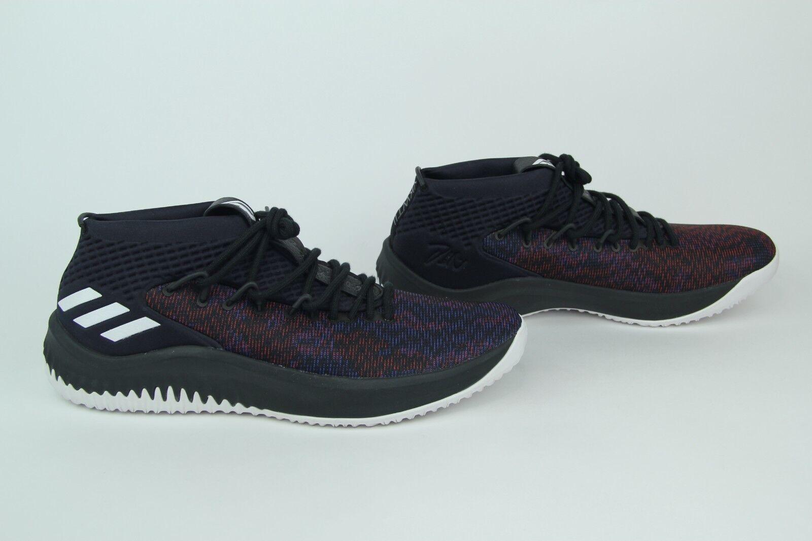 eda6604d1db7c ... Adidas Dame Lillard Lillard Lillard 4 Men s Basketball shoes Core Black  White CQ0477 SIZE 14 New ...