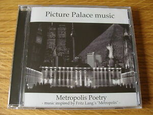 CD-Album-Picture-Palace-Music-Metropolis-Poetry-Sealed-Tangerine-Dream