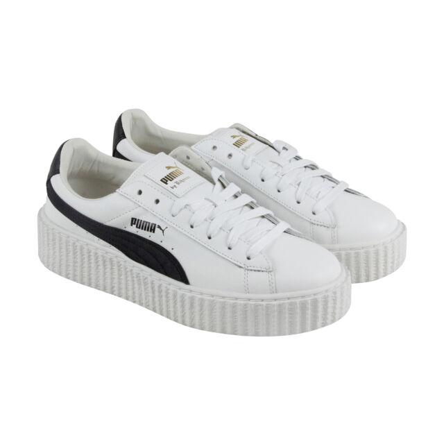 Puma Womens Fenty by Rihanna Riri White Creeper 36446201 Sneakers Shoes