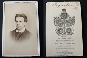 Reutlinger-Paris-le-comedien-Coquelin-Aine-Vintage-albumen-print-CDV