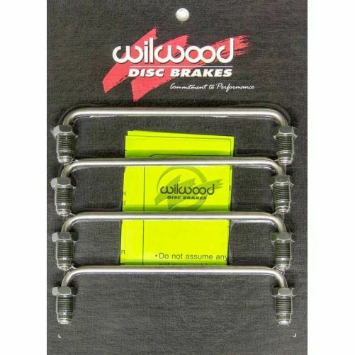 Wilwood 190-8310 Caliper Crossover Tube with Bleeder for SL6//FSL4 1.25 Rotor