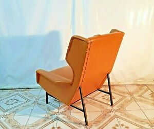Poltrona-chair-chaise-Rare-Armchair-by-Gianfranco-Frattini-for-Cassina-Ita