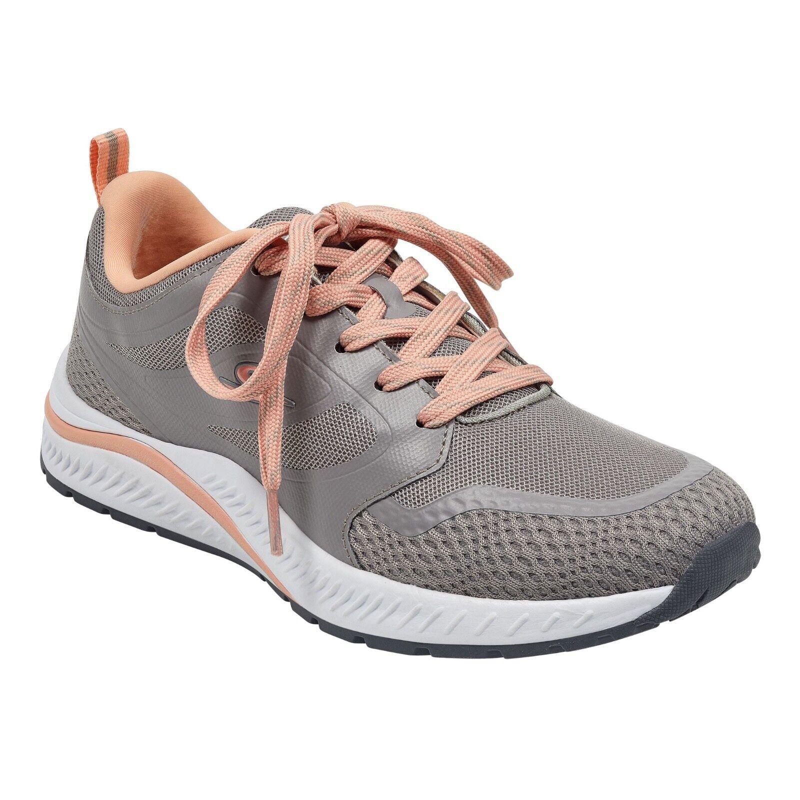 Nuevo En Caja Caja Caja espíritu fácil para mujer Talla 9.5 Zapatos Caminar, Zapatillas abrazos Luz Ash gris Melocotón a5fb67