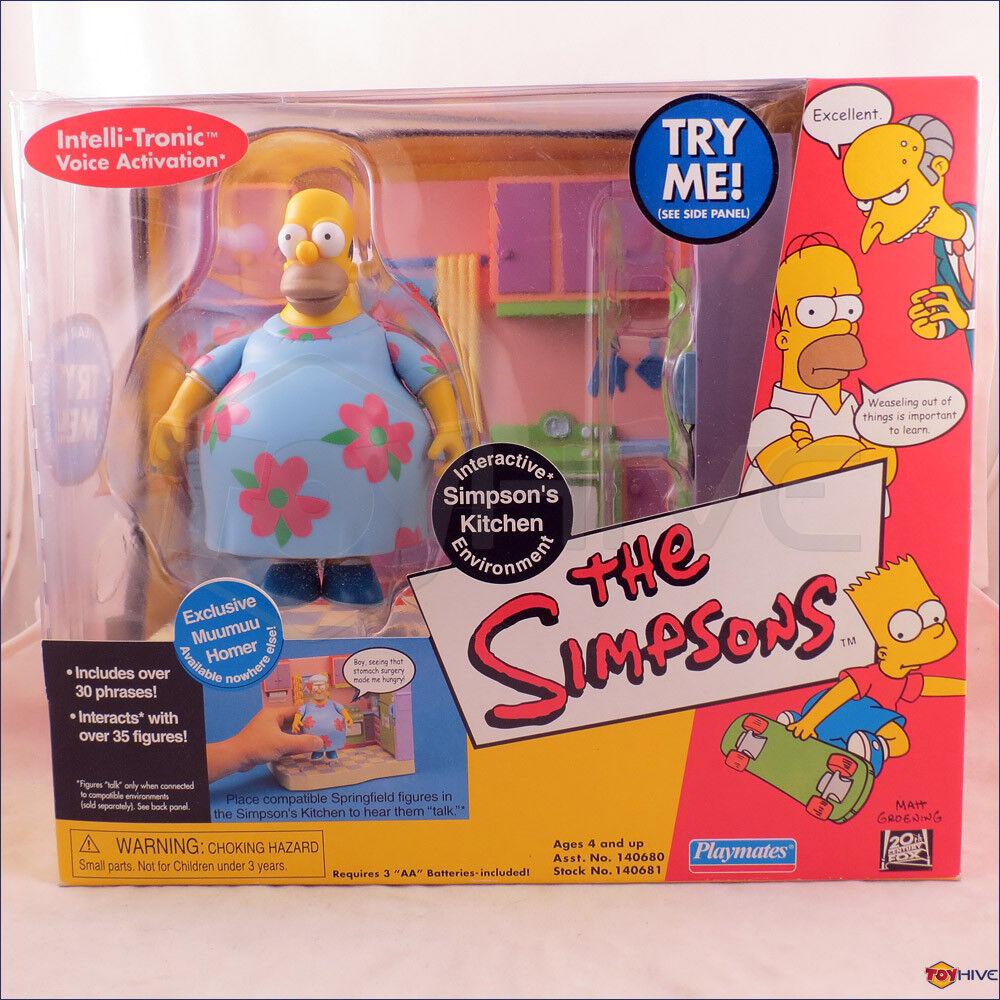 Simpsons Kitchen Interactive Environmänt låda med Muumuu Hemr exklusiv