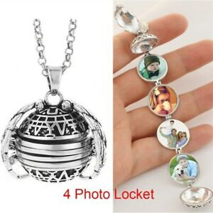 4-Photo-Locket-Pendant-Necklace-Angel-Wing-Locket-Necklace-4-Colors