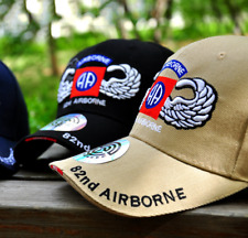 US Army Airborne ALL THE WAY Ball Cap Ranger 82nd 173rd 101st Jump Wings Hat OD