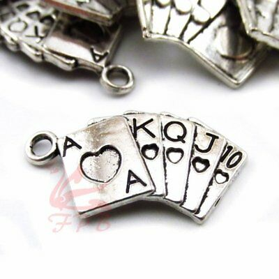 8//15//30PCs Claddagh Charms 24mm Antiqued Silver Plated Triquetra Pendants