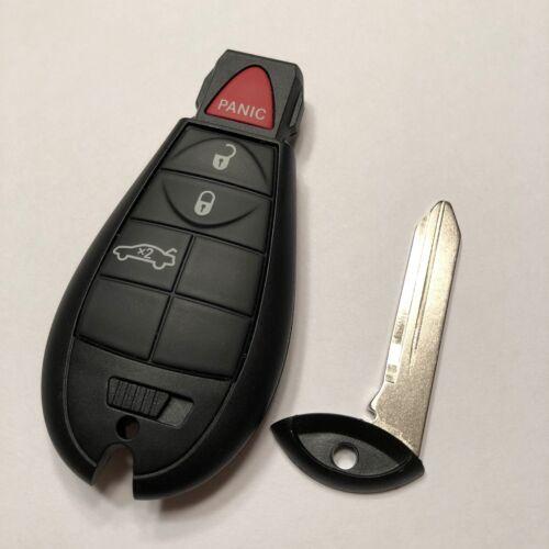 New OEM DODGE Keyless Entry Remote Key Fob Fobik 4 Button IYZ-C01C DODGE