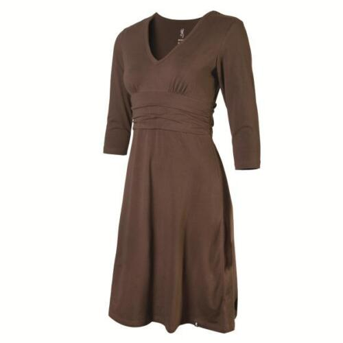 Browning Womens Casual Dress Chocolate
