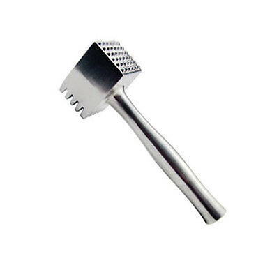 Heavy Duty Metal Meat Tenderiser Steak Hammer Beater Mallet Tenderizer 21cm