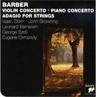 Barber: Violin Concerto; Piano Concerto; Adagio for Strings (CD, Jun-2009, Sony BMG)