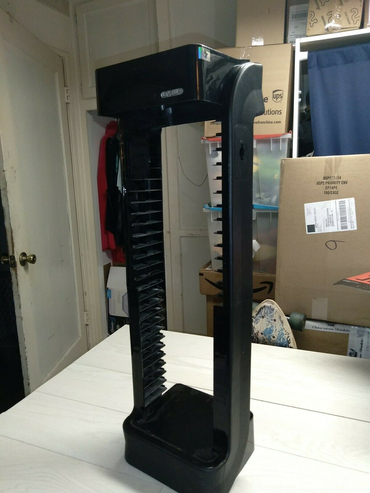 (1) Pre-owned Level-Up Video Game Storage Tower Minor Defects