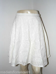 S M Tg L de immobilier Regina Falda Xs va blanca Fornarina algodón Bianco zqFwRzB