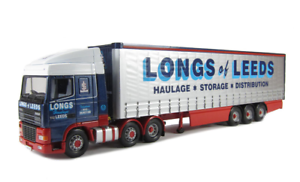 Corgi Modern Heavy Haulage CC13202 DAF XF Curtainside Long Of Leeds 1 50 Scale