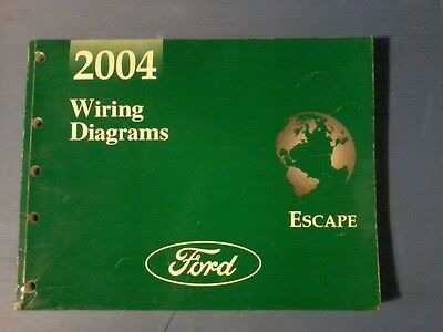 2004 Ford Escape Service Repair Wiring Diagram Manuals Ebay