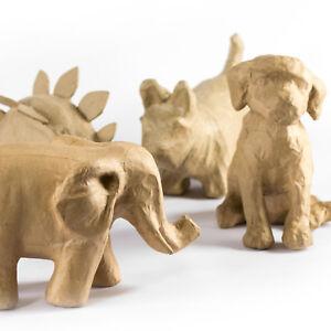 Decopatch-Mache-Model-Animal-DIY-Art-Craft-Paint-Your-Own-Dinosaur-Ornament-Gift