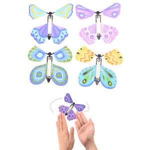 Magie-fliegender-Schmetterling-Uberraschendes-Geschenk-Wind-up-Magic-Kids-ToyFY