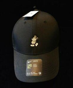 f90af99fc Details about Disney Parks Exclusive Mickey Nike Dri Fit Grey Black  Baseball Cap Golf Hat BNWT
