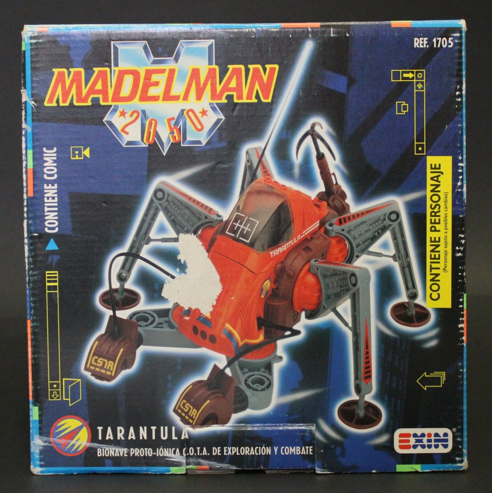 1989 Exin 3-3 4  Madelman 2050 TARANTULA vehicle IN G2 BOX VHTF no figure