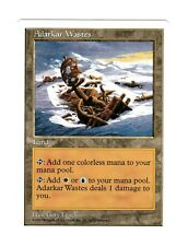 1x Adarkar Wastes Played 5th Fifth Edition Commander Mtg Magic EDH 1x x1
