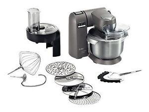Bosch Mumx30gxde 1600w 5 4l Kuchenmaschine Grau Ebay
