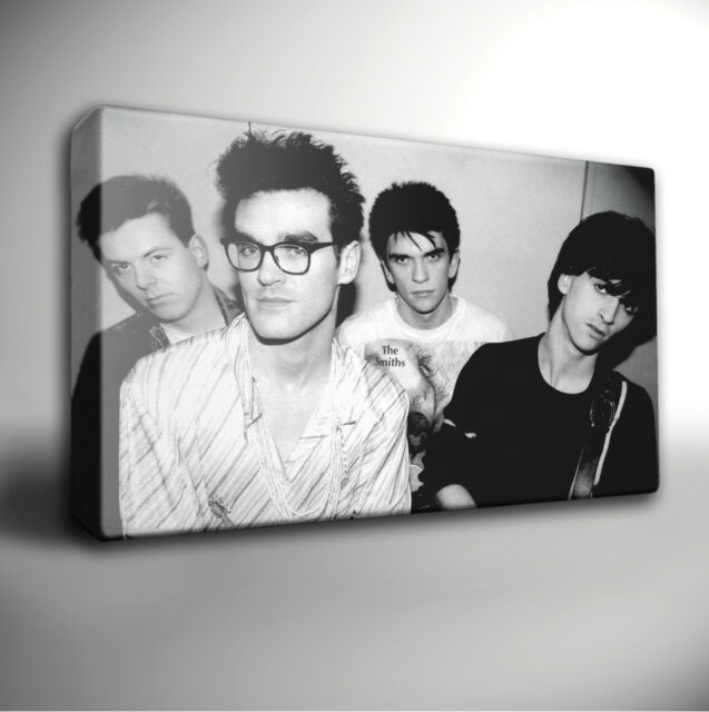THE SMITHS MORRISSEY - GICLEE CANVAS ART