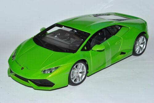 Lamborghini Huracan lp6410-4 COUPE VERDE a partire dal 2014 1//18 Bburago Auto Modello con O..