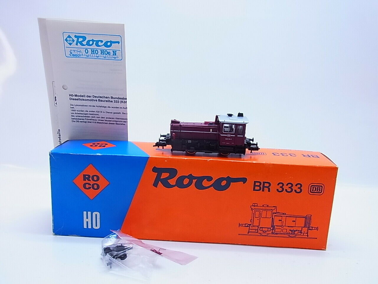Lot 60380   ROCO h0 04163a DIESEL BR 333 delle DB in OVP