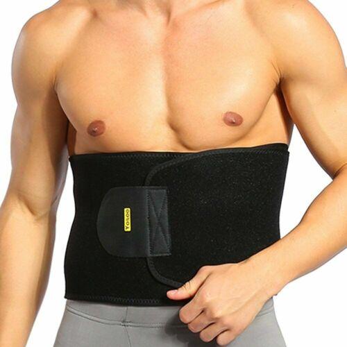 Männer Hot Body Shaper Gewichtsverlust Bauchgürtel Fettverbrenner Trimmer