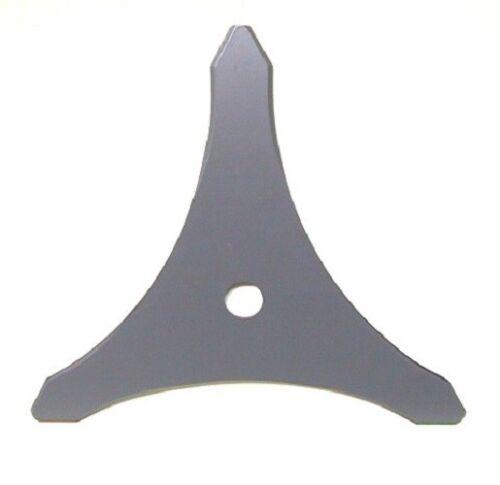 Desbrozadora 3-diente hierba cuchillo 350 x 25,4 x 4mm broza para Motorsense