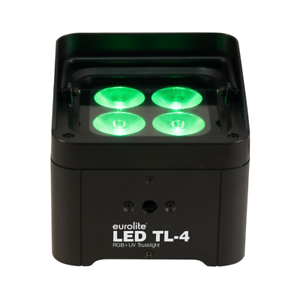 Eurolite LED TL-4 Uplightwall Washer 4 x 8W RGBW UV Disco DJ Uplight