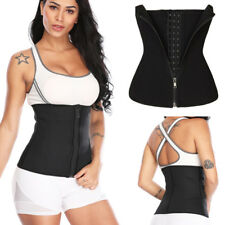 Waist Trainer Neoprene Belt Zipper+Hooks Body Shaper Corset Girdle Slim Band AP