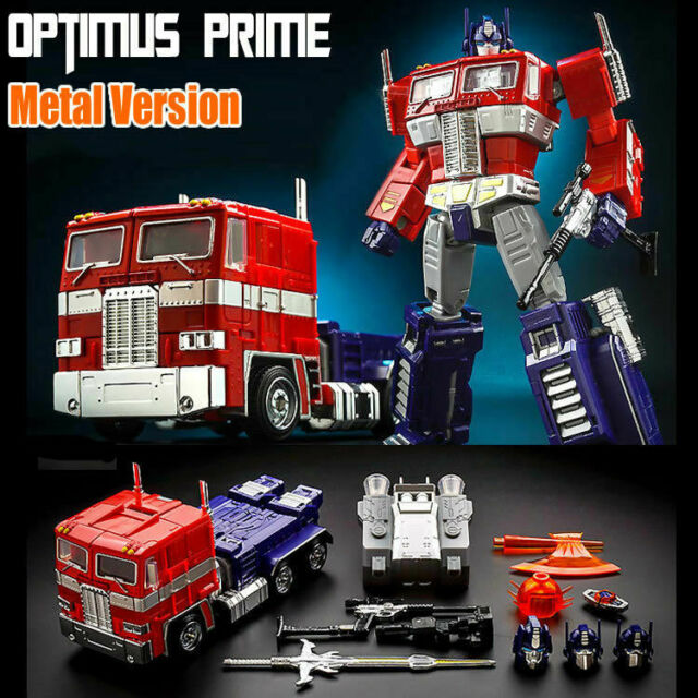 Transformers Japanese version of the color MP10 Optimus Prime Car Cab Set