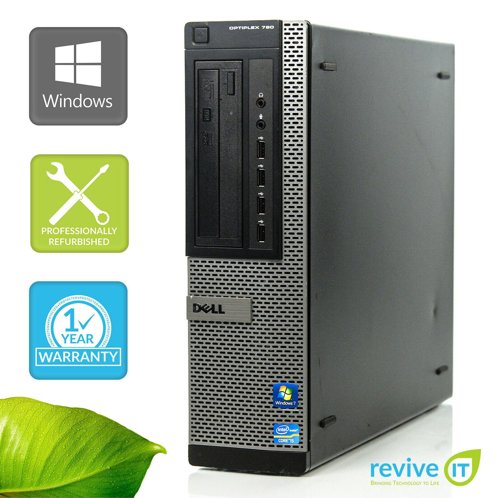 Custom Build Dell Optiplex 790 DT  i5-2400 3.10GHz Desktop Computer PC