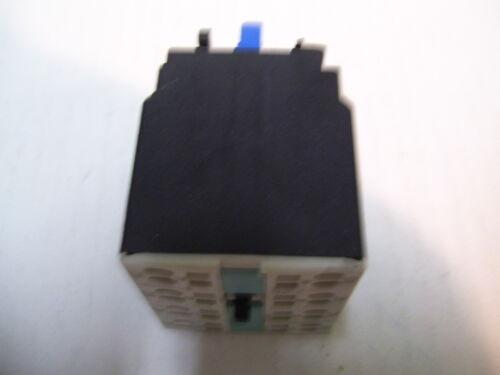 SIEMENS 3RH1921-2HA22 AUXILIARY CONTACT BLOCK 2NC//2N0  P2115