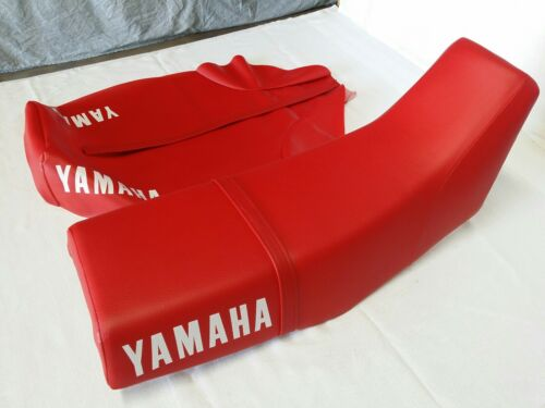YAMAHA XT600 1984 TO 1986 MODEL REPLACEMENT SEAT COVER Y129 red WITH STRAP
